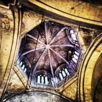 Photo taken at Monestir de Sant Cugat by Oscar B. on 4/20/2013