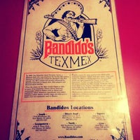 Photo taken at Bandido's by William R. on 9/17/2012