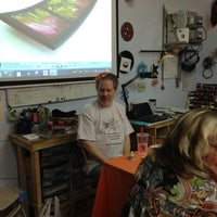 Photo taken at Helios Glass Studio by Lisa D. on 5/11/2013