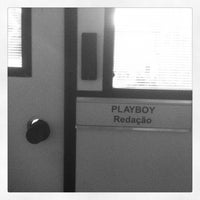 Photo taken at Playboy Brasil by Ryan on 10/23/2012