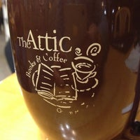 Photo taken at The Attic Books & Coffee by Ron R. on 10/25/2012