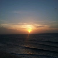 Photo taken at Praia de Jericoacoara by Nadia C. on 3/12/2013