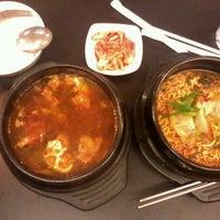 Photo taken at Ccozi n friends - korean dining food by Adela N. on 1/11/2013