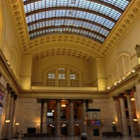 Photo taken at Chicago Union Station by Amber M. on 7/6/2013