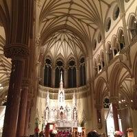 Photo taken at Saint Francis Xavier College Church by Derrick N. on 1/14/2013