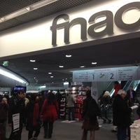 Photo taken at Fnac by Laurent B. on 3/2/2013