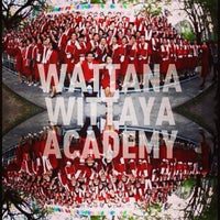 Photo taken at Wattana Wittaya Academy by Napat K. on 2/16/2013