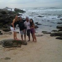 Photo taken at Praia Das Conchas by Nelma R. on 2/9/2013