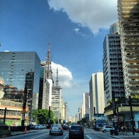 Photo taken at Paulista Avenue by F. C. N. on 11/2/2013