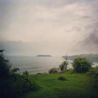 Photo taken at Bogmalo Beach by Nathan G. on 10/1/2013