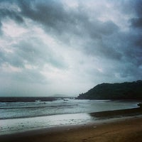 Photo taken at Bogmalo Beach by Nathan G. on 7/25/2013