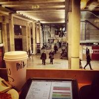 Photo taken at Starbucks by Mia K. on 1/18/2013