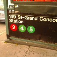 Photo taken at MTA Subway - 149th St/Grand Concourse (2/4/5) by 🔌Malectro 7. on 10/7/2012