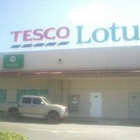 Photo taken at Tesco Lotus by tat on 3/19/2013