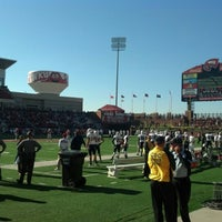 Photo taken at Houchens Industries-L.T. Smith Stadium by Jackson S. on 11/10/2012