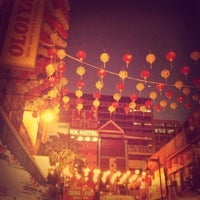 Photo taken at Petaling Street (Chinatown) by M on 1/28/2013