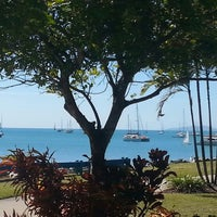 Photo taken at Airlie Beach by Richard G. on 7/20/2014