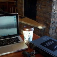 Photo taken at Caribou Coffee by Mohamed E. on 2/3/2013