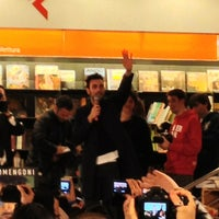 Photo taken at La Feltrinelli Libri e Musica by Alex M. on 3/18/2013