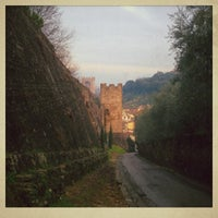 Photo taken at Forte di Belvedere by Evgenia P. on 1/5/2013