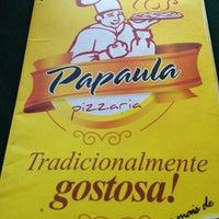 Photo taken at Papaula Pizzaria by Fialho R. on 12/30/2012