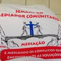 Photo taken at Núcleo de Mediação Comunitária do Antônio Bezerra by Rejane A. on 9/10/2014