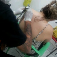 Photo taken at Estúdio Legion Tattoo by Rejane A. on 12/26/2012