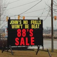 Photo taken at John's No Frills by KittyGinaMeow S. on 1/13/2013