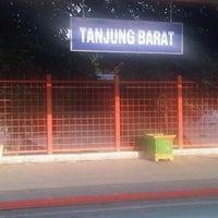 Photo taken at Stasiun Tanjung Barat by Iwan Delsu S. on 9/14/2012