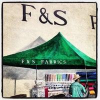 Photo taken at F & S Fabrics by Sarah J. on 2/6/2014
