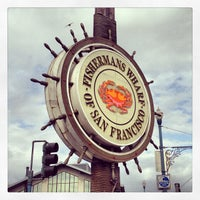Photo taken at Fisherman's Wharf by Sarah J. on 5/6/2013