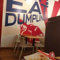 Photo taken at Rickshaw Dumpling Bar by AC on 8/8/2013