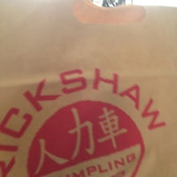 Photo taken at Rickshaw Dumpling Bar by AC on 8/6/2013
