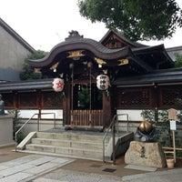 8/6/2013にキクさんが晴明神社で撮った写真