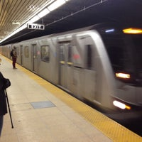 Photo taken at Dundas Subway Station by Marcos on 1/16/2015