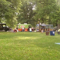 Photo taken at Food Truck Friday @ Tower Grove Park by Jennifer S. on 5/11/2012