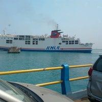 Photo taken at Pelabuhan Merak by Andri C. on 6/27/2012