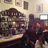 Photo taken at Antigua Taberna Queirolo by Luis P. on 8/12/2012