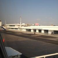 Photo taken at Aeropuerto Internacional Capitán FAP José A. Quiñones González (CIX) by Melisa F. on 5/28/2012