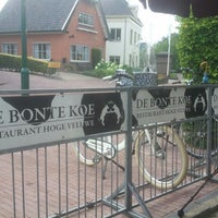 Photo taken at Restaurant De Bonte Koe by Job V. on 8/5/2012