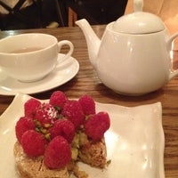 Photo taken at Bosie Tea Parlor by Michiko B. on 6/27/2012