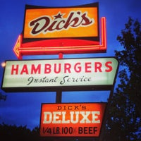 Photo taken at Dick's Drive-In by nuschu on 5/30/2013