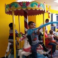 Photo taken at Kids Pavillion by Jose R. on 4/6/2014