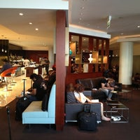 Photo taken at Etihad First Class Lounge & Spa by John on 12/19/2012