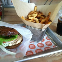 Photo taken at YEAH! Burger by Aerolyn S. on 1/9/2013