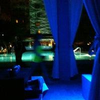 Photo taken at Skybar at Shore Club by Vane K. on 12/8/2012