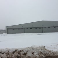 Photo taken at Skyway Airlines Hangar by Mark S. on 3/10/2013