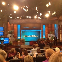 Photo taken at The Ellen DeGeneres Show by Carra M. on 9/14/2012
