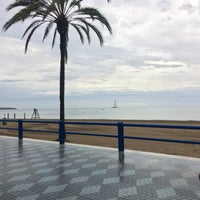 Photo taken at Alacant | Alicante by Zelal Arzu S. on 8/30/2017