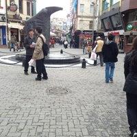 Photo taken at Beşiktaş Square by Duşe K. on 1/25/2013